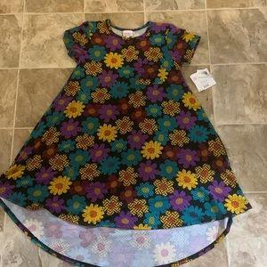 LulaRoe floral pattern Carly